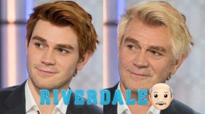 FaceApp: ecco le foto degli attori del cast di Riverdale invecchiati