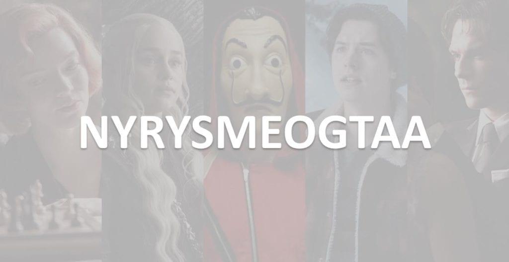 Sai riconoscere il titolo della serie TV dall'anagramma?